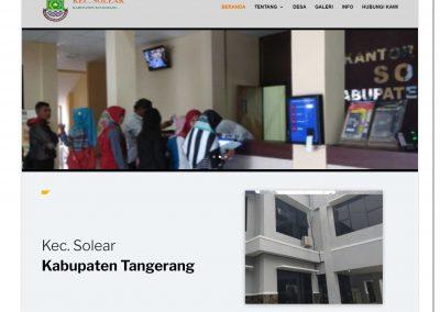 Kecamatan Solear Kabupaten Tangerang
