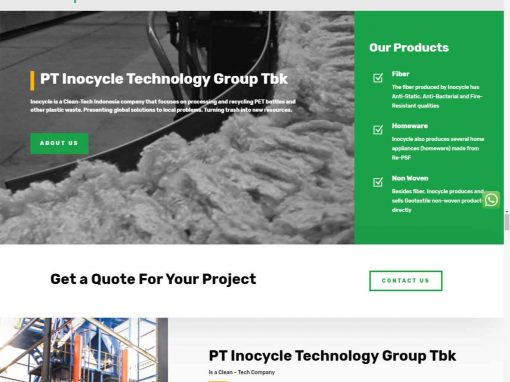 PT Inocycle Technology Group Tbk
